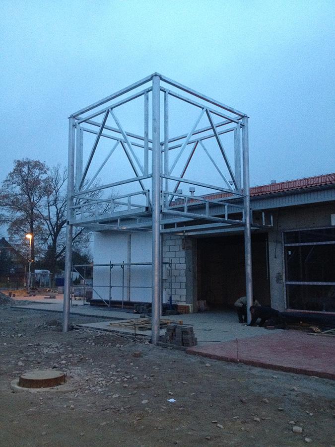 Wykonanie i montaż konstrukcji stalowej ocynkowanej