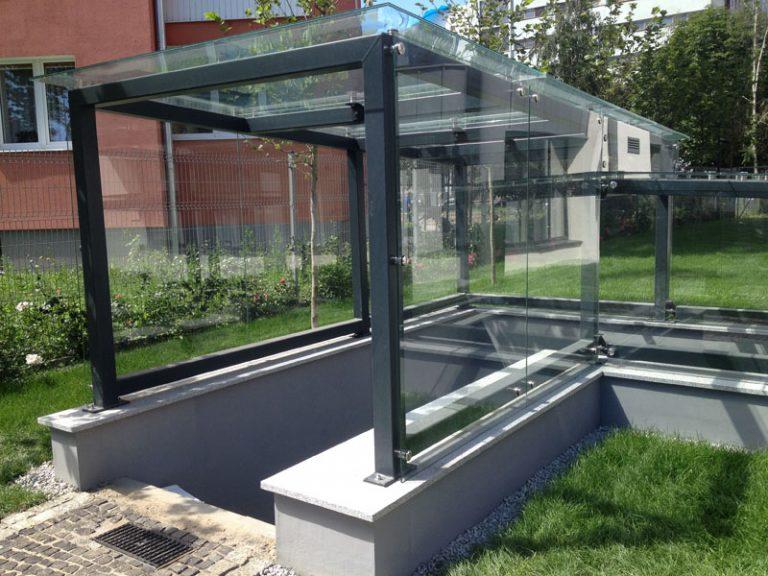 Wykonanie i montaż konstrukcji stalowej ocynkowanej i malowanej proszkowo
