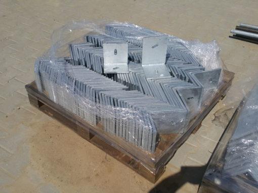 Wykonanie kątowników spawanych z otworami fasolkowymi